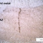Crack after welding